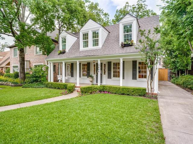 3404 Purdue Avenue, University Park, TX 75225 (MLS #14442058) :: RE/MAX Pinnacle Group REALTORS