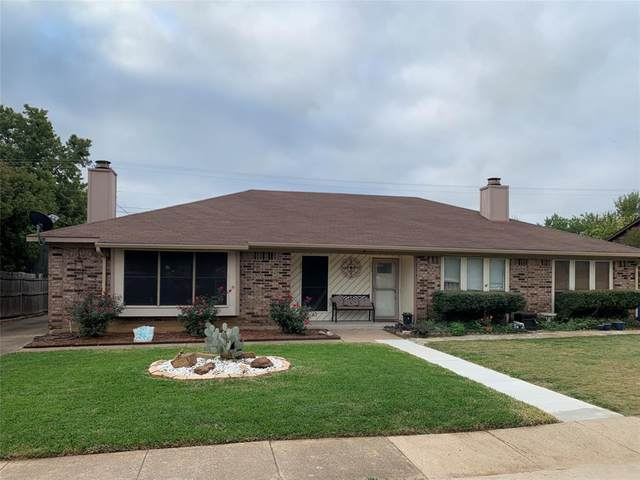 201 Hickory Springs Drive, Euless, TX 76039 (MLS #14445859) :: The Mauelshagen Group