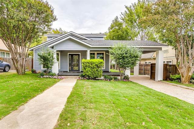 3754 W 7th Street, Fort Worth, TX 76107 (MLS #14453143) :: Keller Williams Realty