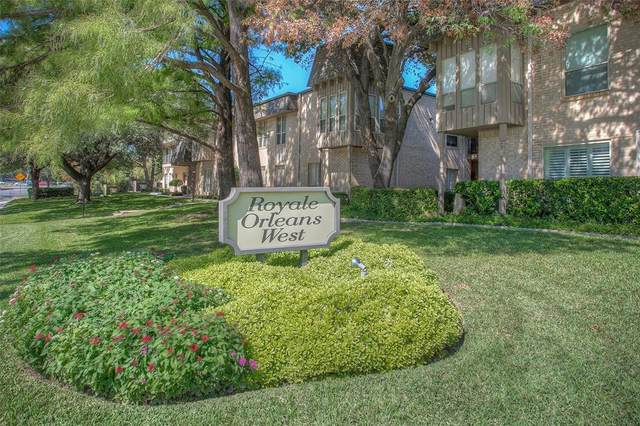 4320 Bellaire Drive S #109, Fort Worth, TX 76109 (MLS #14453490) :: Front Real Estate Co.