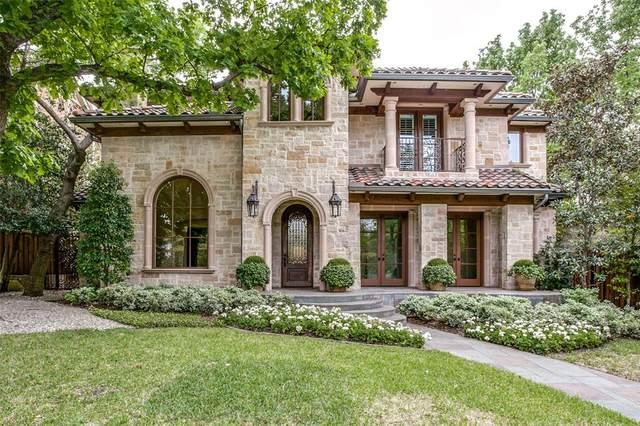 3707 Princeton Avenue, Highland Park, TX 75205 (MLS #14455008) :: The Hornburg Real Estate Group