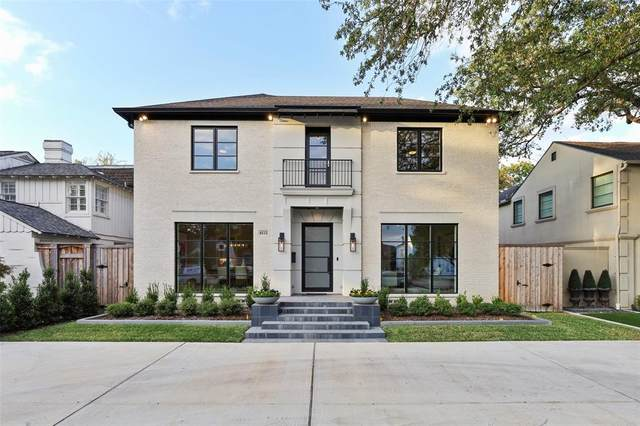 4512 Mockingbird Lane, University Park, TX 75205 (MLS #14459054) :: Robbins Real Estate Group
