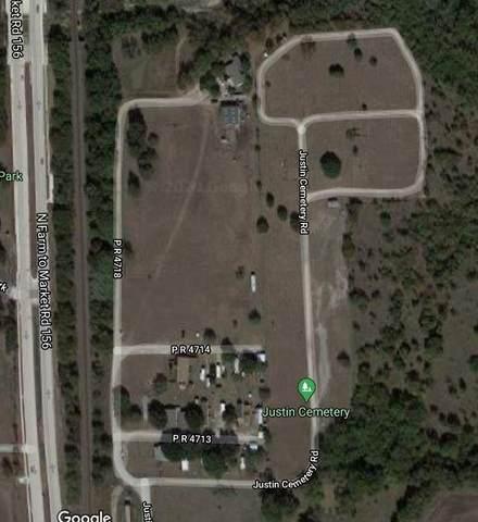 10711 Justin Cemetery Road, Justin, TX 76247 (MLS #14459381) :: The Mauelshagen Group