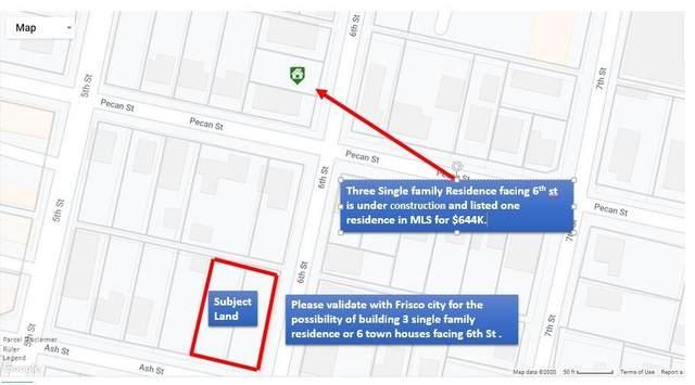 7090 Ash Street, Frisco, TX 75034 (MLS #14459529) :: Frankie Arthur Real Estate