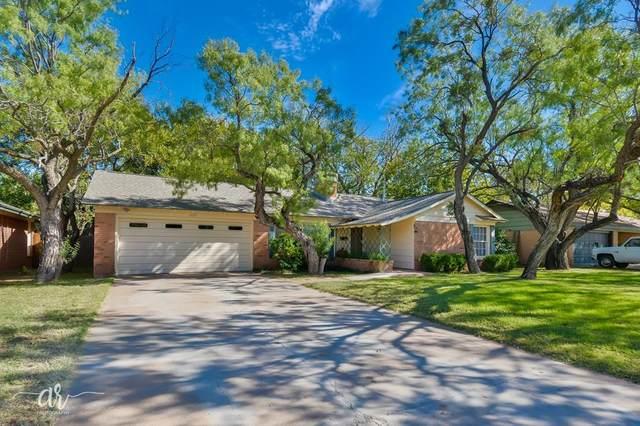 1725 Minter Lane, Abilene, TX 79603 (MLS #14459760) :: EXIT Realty Elite