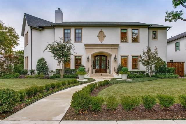 3415 Lindenwood Avenue, Highland Park, TX 75205 (MLS #14462057) :: Frankie Arthur Real Estate