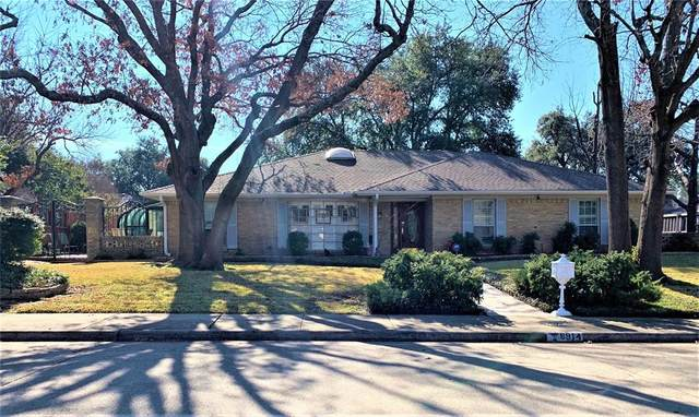 6914 Roundrock Road, Dallas, TX 75248 (MLS #14462679) :: Front Real Estate Co.