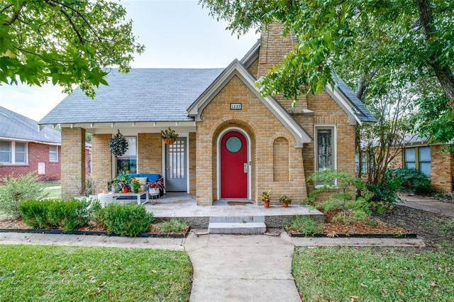 1237 S Montreal Avenue, Dallas, TX 75208 (MLS #14462747) :: All Cities USA Realty