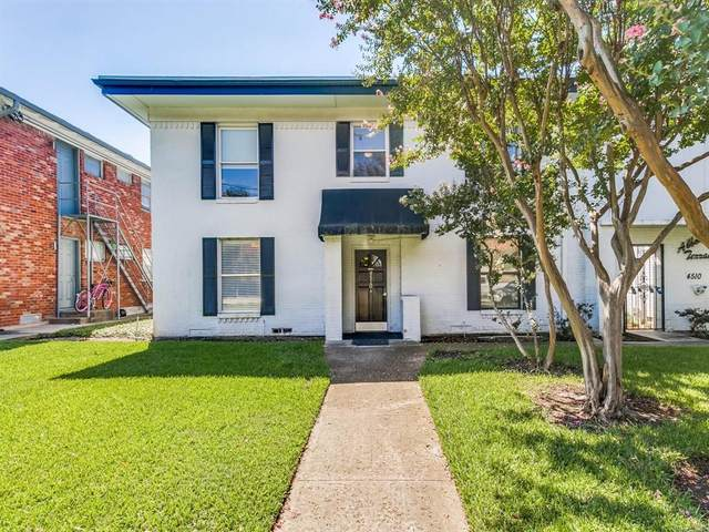 4510 Abbott Avenue #43, Highland Park, TX 75205 (MLS #14465852) :: Team Tiller