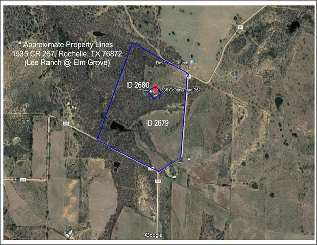 1535 County Road 267, Rochelle, TX 76872 (MLS #14471474) :: The Good Home Team