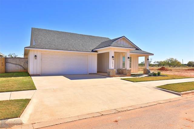 1517 Old Settlers Way, Buffalo Gap, TX 79508 (MLS #14473848) :: The Mauelshagen Group