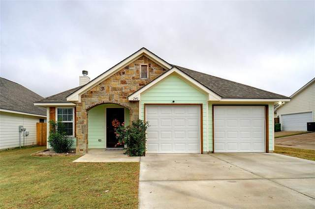 241 Lovers Path Drive, Springtown, TX 76082 (MLS #14476524) :: The Mauelshagen Group