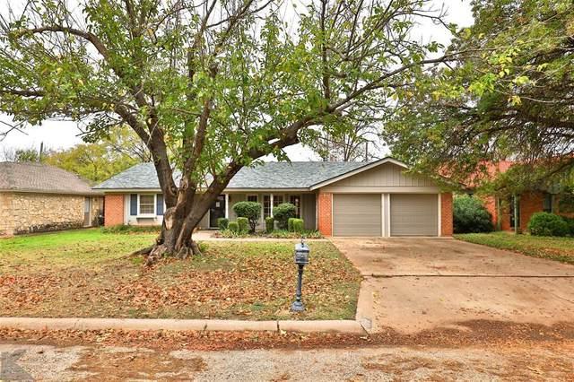 842 Harwell Street, Abilene, TX 79601 (MLS #14478291) :: The Heyl Group at Keller Williams