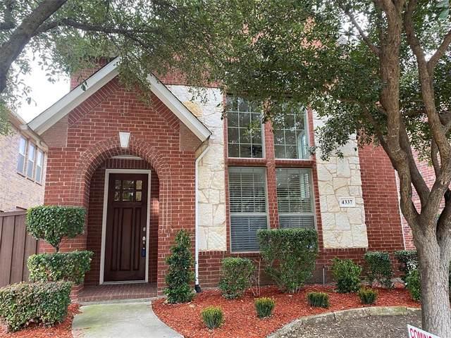 4337 Peregrine Way, Carrollton, TX 75010 (MLS #14491367) :: The Good Home Team