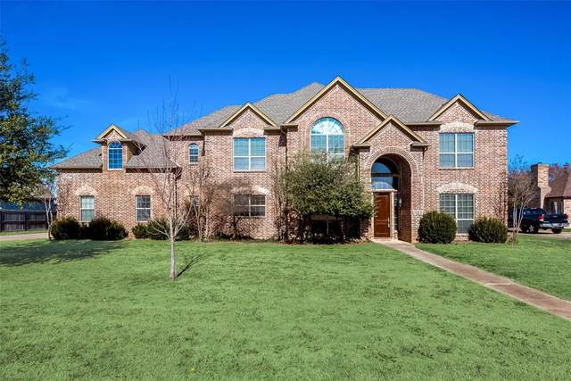 4313 Storm Creek Lane, Burleson, TX 76028 (MLS #14493708) :: The Mauelshagen Group