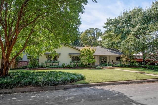 3813 Glenwood Drive, Fort Worth, TX 76109 (MLS #14495827) :: The Mauelshagen Group
