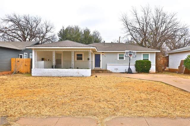 749 Westview Drive, Abilene, TX 79603 (MLS #14496297) :: The Mauelshagen Group