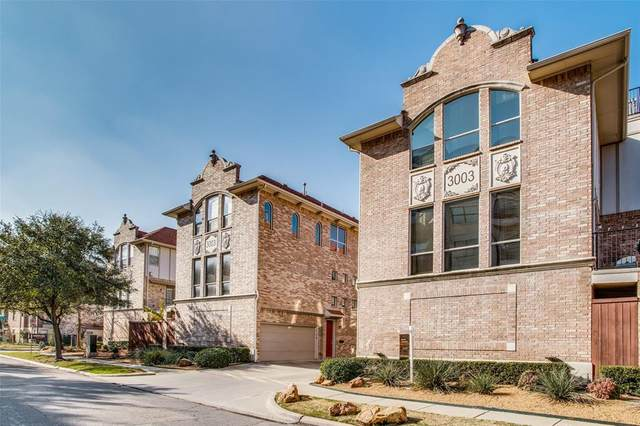 3003 Douglas Avenue #19, Dallas, TX 75219 (MLS #14496546) :: The Tierny Jordan Network