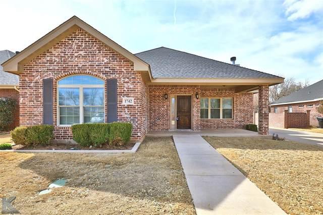 1742 Pemelton Drive, Abilene, TX 79601 (MLS #14497671) :: Team Hodnett