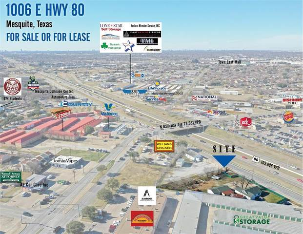 1006 Us Highway 80 E B, Mesquite, TX 75149 (MLS #14499013) :: Real Estate By Design