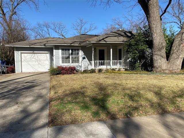 1314 Panhandle Street, Denton, TX 76201 (MLS #14500909) :: Real Estate By Design