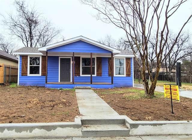 3013 Van Horn Avenue, Fort Worth, TX 76111 (MLS #14501851) :: The Mauelshagen Group