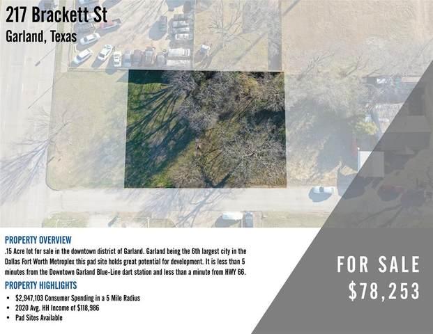217 Brackett Street, Garland, TX 75040 (MLS #14513301) :: The Hornburg Real Estate Group