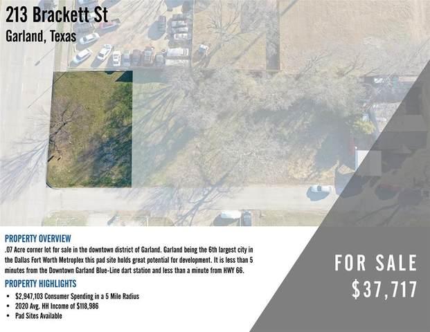213 Brackett Street, Garland, TX 75040 (MLS #14513313) :: The Hornburg Real Estate Group