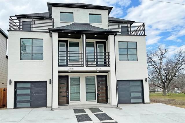 2415 N Winnetka Avenue, Dallas, TX 75212 (MLS #14514486) :: Lyn L. Thomas Real Estate | Keller Williams Allen