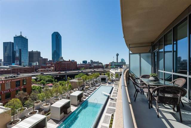 2200 Victory Avenue #703, Dallas, TX 75219 (MLS #14517615) :: Frankie Arthur Real Estate
