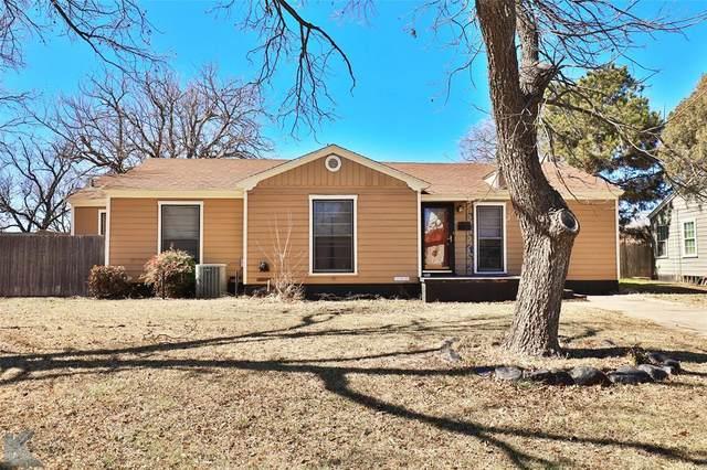1834 Jackson Street, Abilene, TX 79602 (MLS #14518585) :: Team Tiller