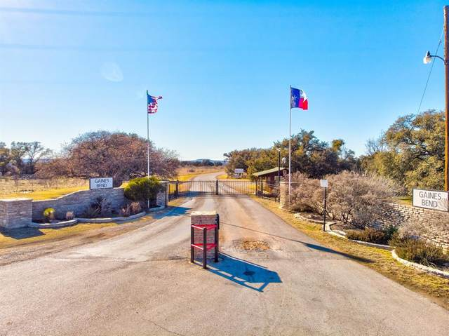 Lot 74 Mockingbird Bend, Possum Kingdom Lake, TX 76449 (MLS #14521033) :: The Juli Black Team