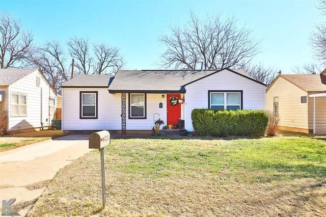 2225 Meander Street, Abilene, TX 79602 (MLS #14522452) :: The Tierny Jordan Network