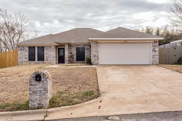 222 Lancelot Drive, Weatherford, TX 76086 (MLS #14524526) :: The Mauelshagen Group