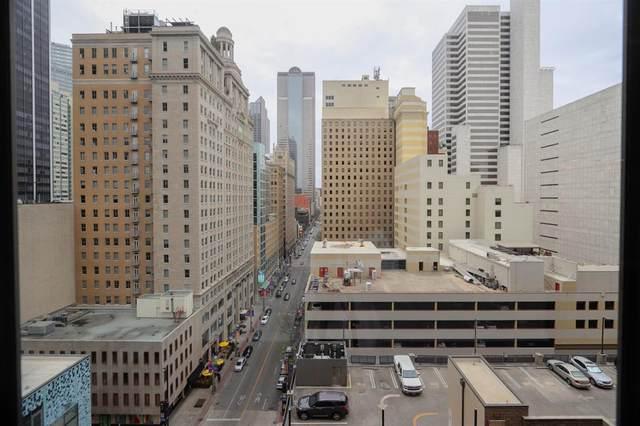 1200 Main Street #1009, Dallas, TX 75202 (MLS #14530973) :: Justin Bassett Realty