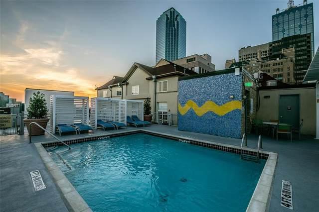 1122 Jackson Street #716, Dallas, TX 75202 (MLS #14534416) :: Trinity Premier Properties