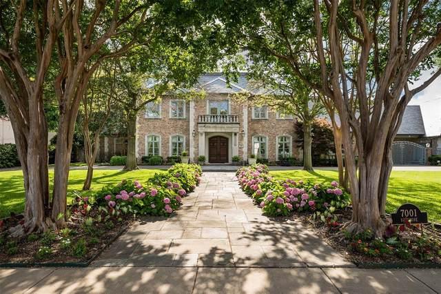 7001 Baltimore Drive, University Park, TX 75205 (MLS #14537585) :: Craig Properties Group