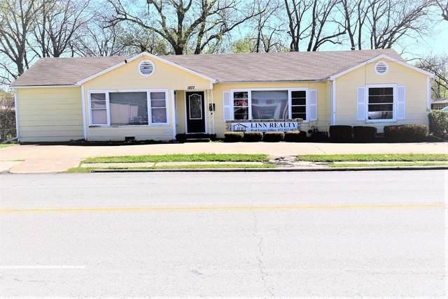 1207 S Washington Street, Kaufman, TX 75142 (MLS #14541361) :: Wood Real Estate Group
