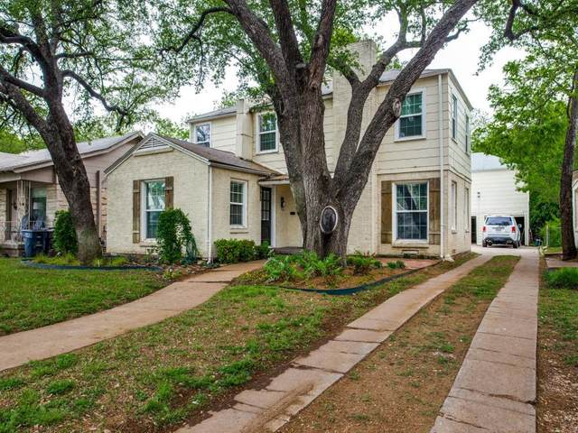 3327 S University Drive, Fort Worth, TX 76109 (MLS #14544768) :: Front Real Estate Co.
