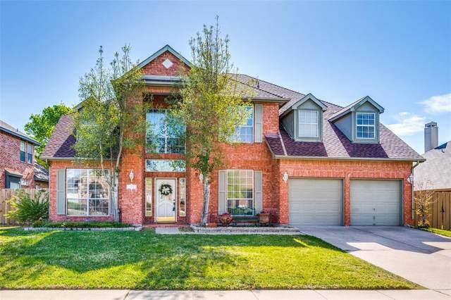 5708 Charleston Drive, Frisco, TX 75035 (MLS #14548446) :: The Kimberly Davis Group