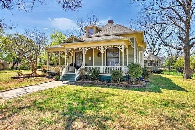 408 W Main Street, Whitesboro, TX 76273 (MLS #14549775) :: The Chad Smith Team
