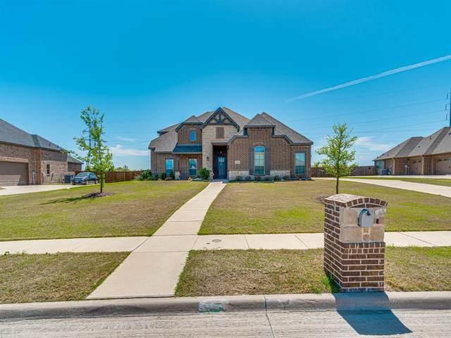 168 Sapphire Lane, Waxahachie, TX 75165 (MLS #14550043) :: The Hornburg Real Estate Group