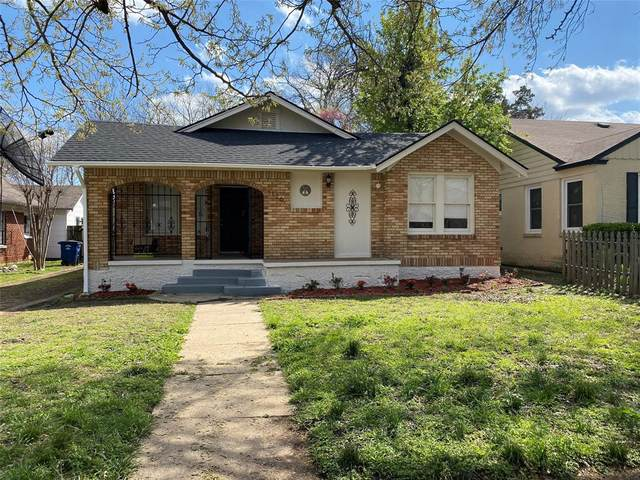 1126 Pioneer Drive, Dallas, TX 75224 (MLS #14550784) :: Craig Properties Group