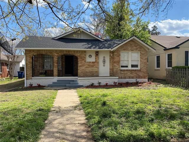 1126 Pioneer Drive, Dallas, TX 75224 (MLS #14550784) :: Hargrove Realty Group