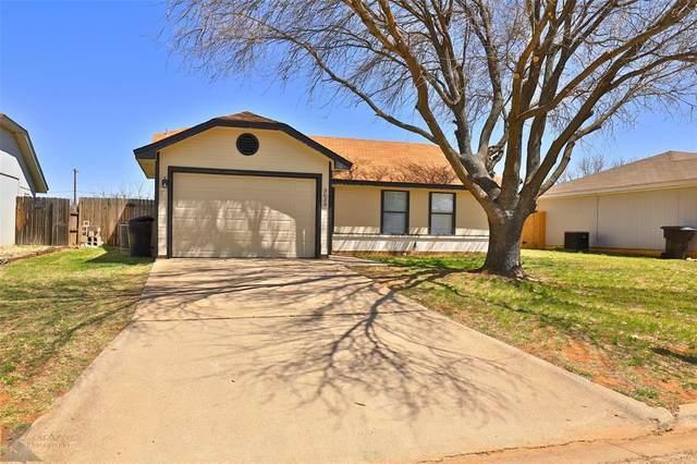 3633 Georgetown Drive, Abilene, TX 79602 (MLS #14551076) :: The Heyl Group at Keller Williams