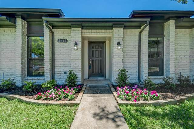 2412 Florence Drive, Plano, TX 75093 (MLS #14552128) :: Real Estate By Design