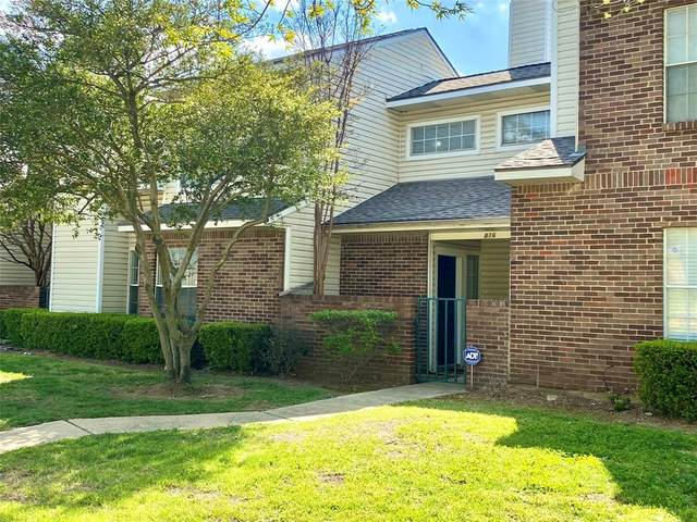 816 Creekside Drive, Lewisville, TX 75067 (MLS #14552669) :: RE/MAX Landmark