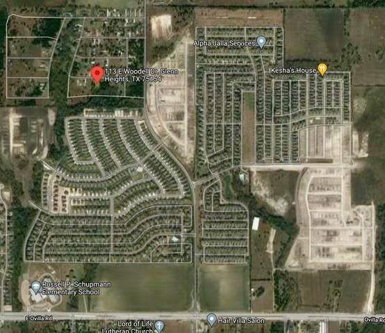 113 E Woodell Drive, Glenn Heights, TX 75154 (MLS #14553118) :: The Daniel Team