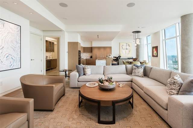 1918 Olive Street #3502, Dallas, TX 75201 (MLS #14555195) :: All Cities USA Realty