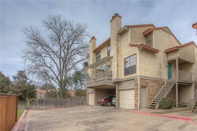 6512 Hickock Drive 8A, Fort Worth, TX 76116 (MLS #14560331) :: The Mauelshagen Group